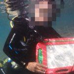リフレッシュダイビング 7年ぶりに水中へ入るダイバー