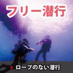 フリー潜行、ロープを使わない潜行方法