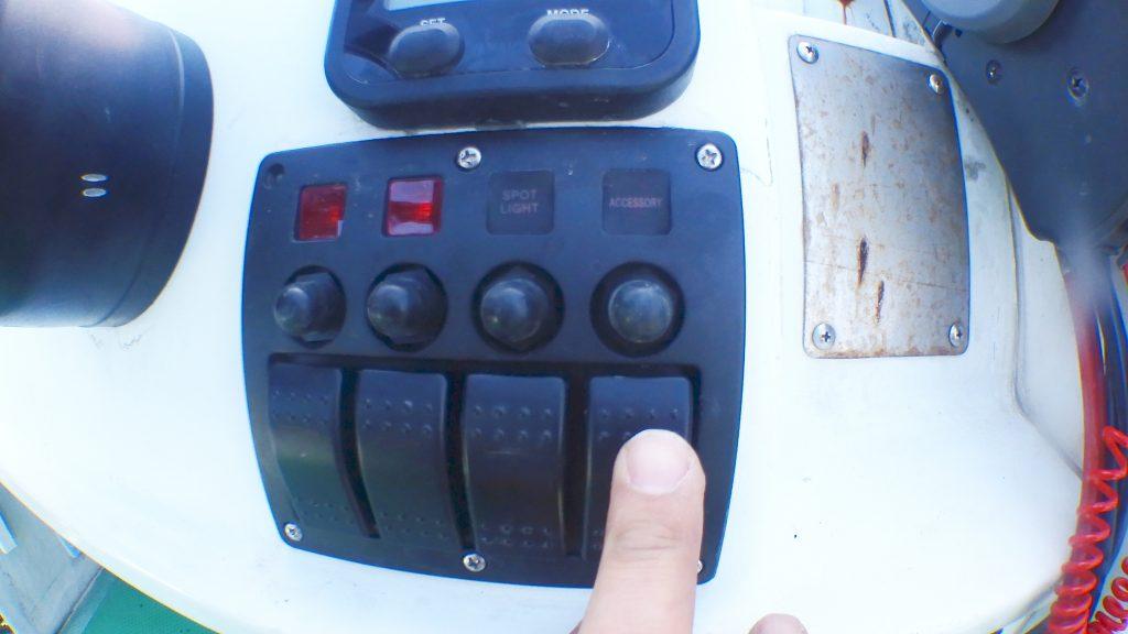 zmayastar 4連 防水 ボートスイッチ